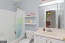 BEDROOM TWO FULL BATH - 8900 GRIST MILL WOODS CT, ALEXANDRIA
