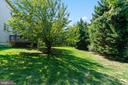 LARGE TREED YARD - 8900 GRIST MILL WOODS CT, ALEXANDRIA