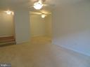 Just painted dining room - 11220 CHESTNUT GROVE SQ #124, RESTON