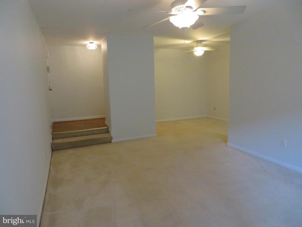 New color in living, dining area - 11220 CHESTNUT GROVE SQ #124, RESTON