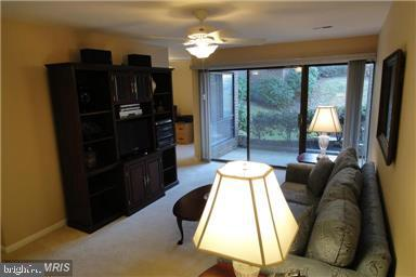 Living room, original color - 11220 CHESTNUT GROVE SQ #124, RESTON
