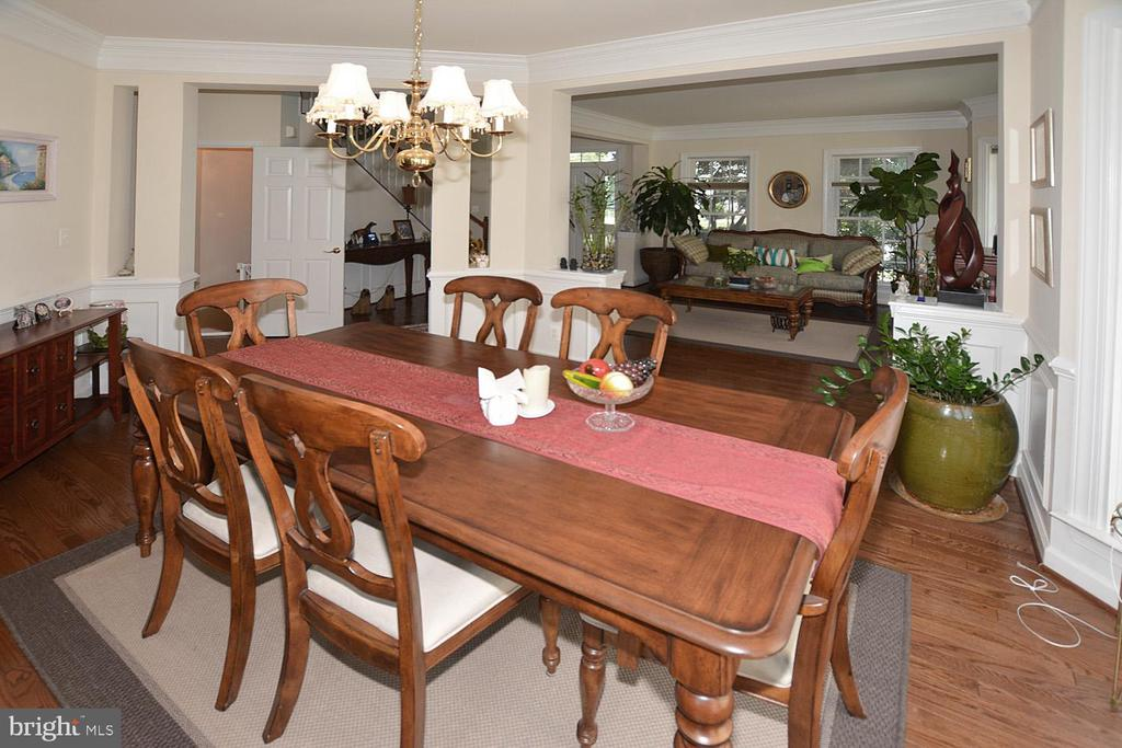 DINING ROOM - 19130 CHARTIER DR, LEESBURG