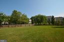 BACK VIEW W/ FENCED YARD - 19130 CHARTIER DR, LEESBURG