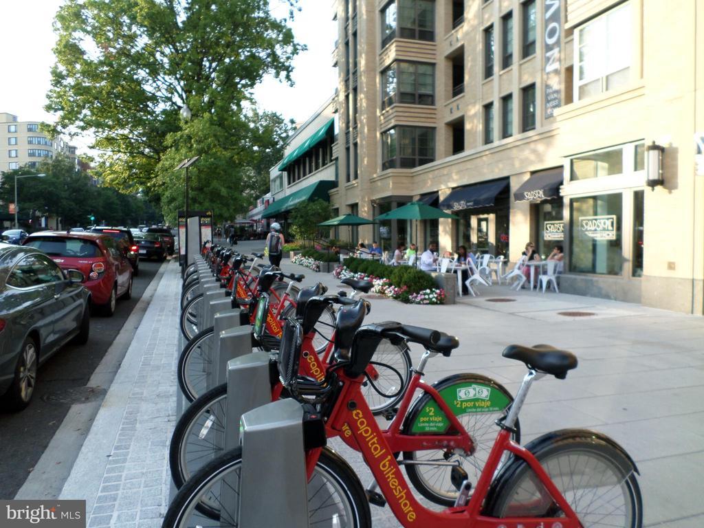 Many bike stations nearby - 2939 VAN NESS ST NW #726, WASHINGTON