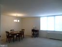 Extra wide living-room with dining area - 2939 VAN NESS ST NW #726, WASHINGTON