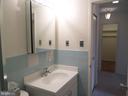 Bathroom sink and walk-in closet - 2939 VAN NESS ST NW #726, WASHINGTON