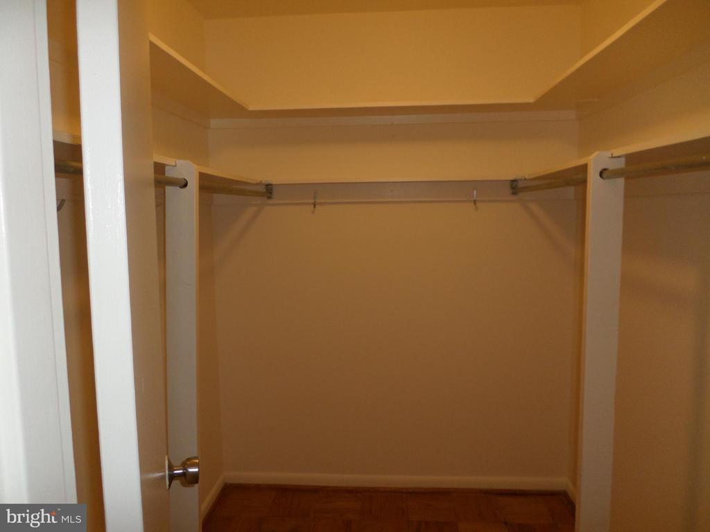 Walk-in Closet - 2939 VAN NESS ST NW #726, WASHINGTON