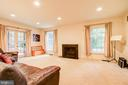 Large Family Room with wood burning Fireplace! - 2812 29TH PL NW, WASHINGTON