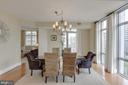 Formal Dining Room - 11990 MARKET ST #812, RESTON