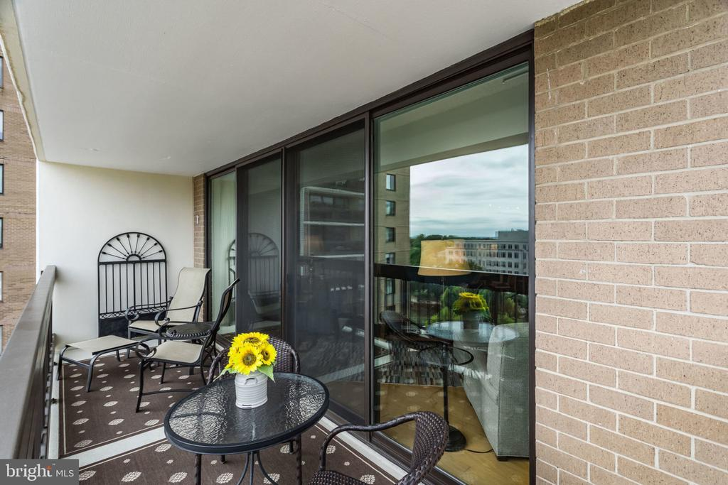 Balcony - 3800 FAIRFAX DR #704, ARLINGTON