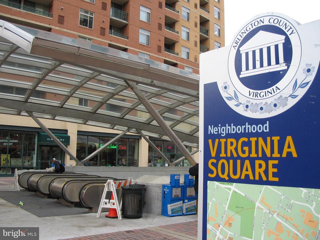 Two blocks to VA Square Metro Station - 3800 FAIRFAX DR #704, ARLINGTON
