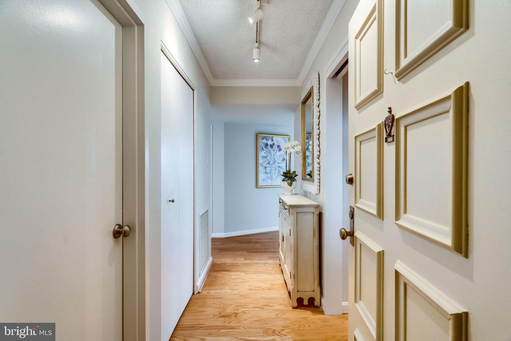 Entry  -  Large Walk-In Pantry on Left - 3800 FAIRFAX DR #704, ARLINGTON