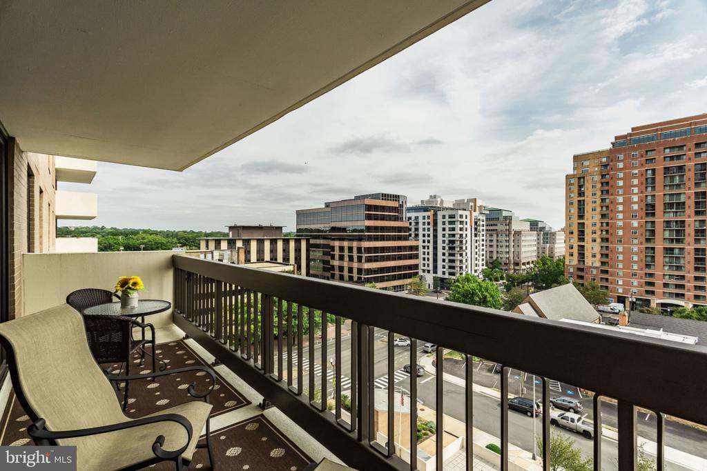 Balcony - 3800 FAIRFAX DR #704, ARLINGTON