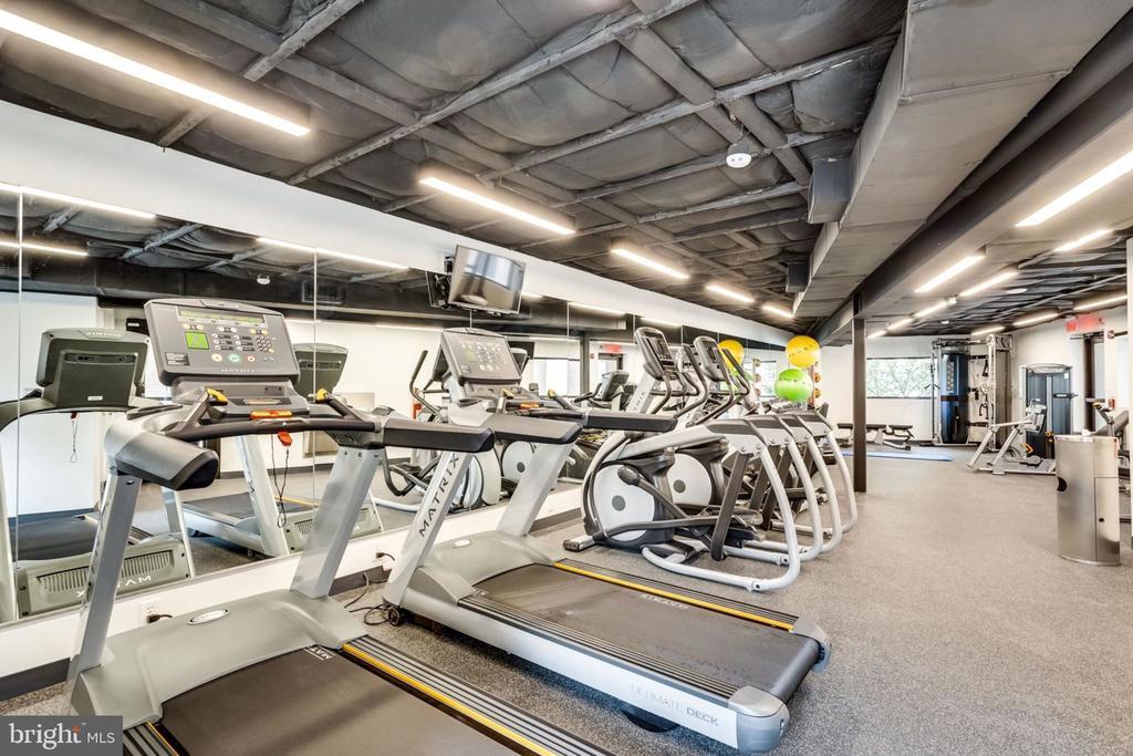 Newly Enlarged Fitness Rm. - New Equipment - 3800 FAIRFAX DR #704, ARLINGTON