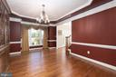 Enjoy Formal Dinners in this Dining Room - 12515 SINGLE OAK RD, FREDERICKSBURG
