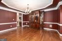 Tray Ceilings, Chair Rail & Crown Moulding! - 12515 SINGLE OAK RD, FREDERICKSBURG