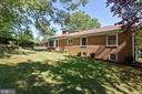 Back yard - 13315 QUEENS LN, FORT WASHINGTON