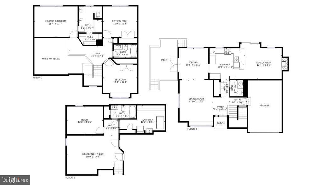 Full floorplan - 478 FOXRIDGE DR SW, LEESBURG