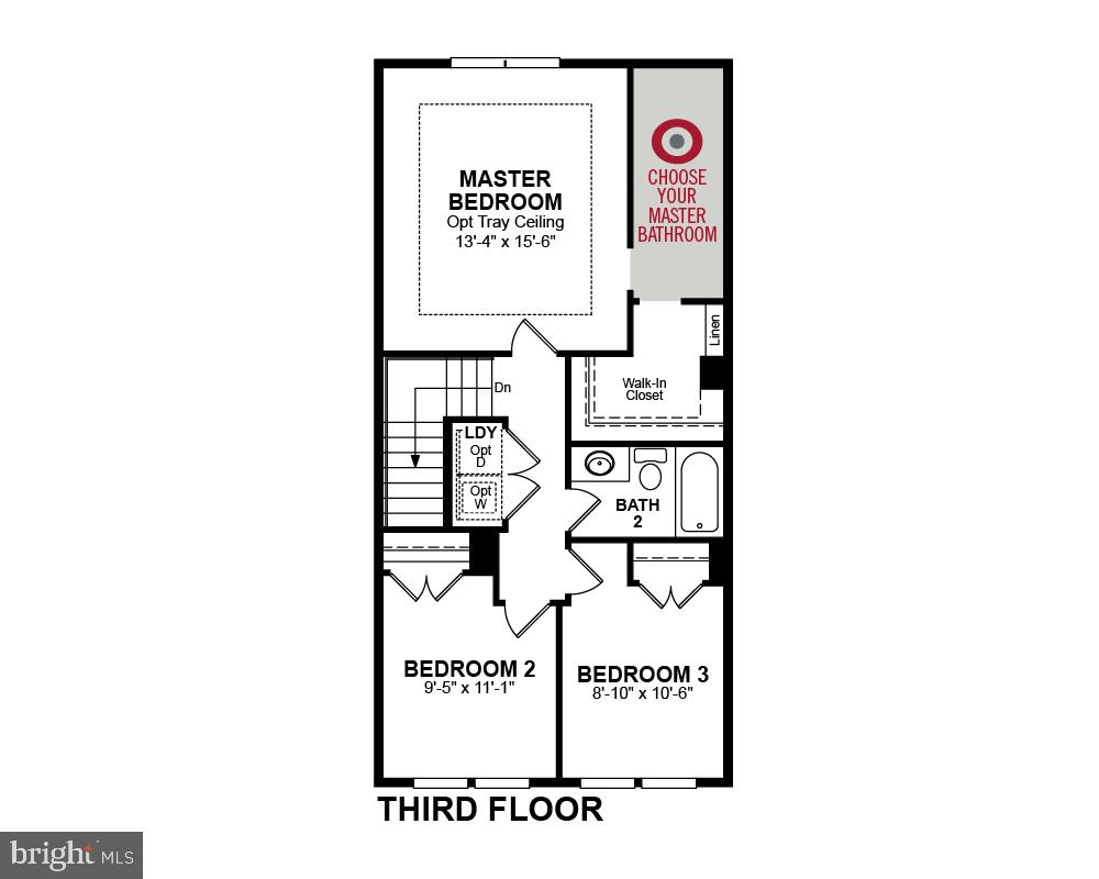 Third Floor - 1234 MEADOWLARK GLEN RD, DUMFRIES