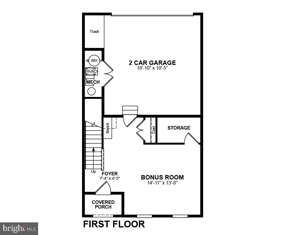 First Floor - 2345 MEADOWLARK GLEN RD, DUMFRIES