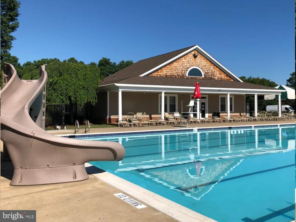 Pool includes Slide & Clubhouse - 9806 RAMSAY DR, FREDERICKSBURG