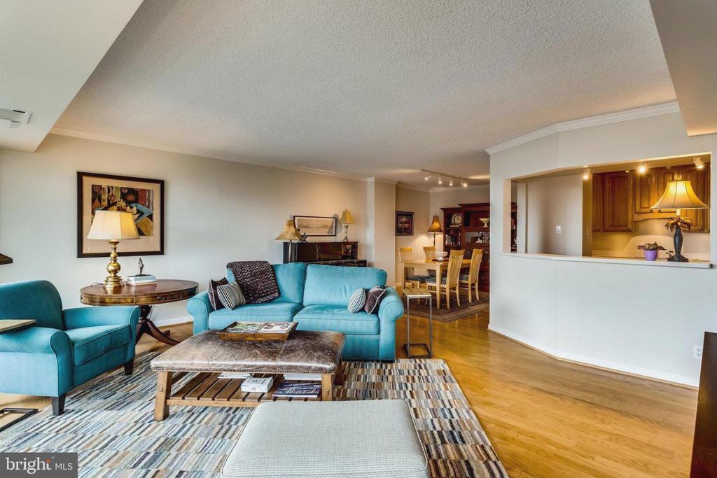 Living Room - 3800 FAIRFAX DR #704, ARLINGTON