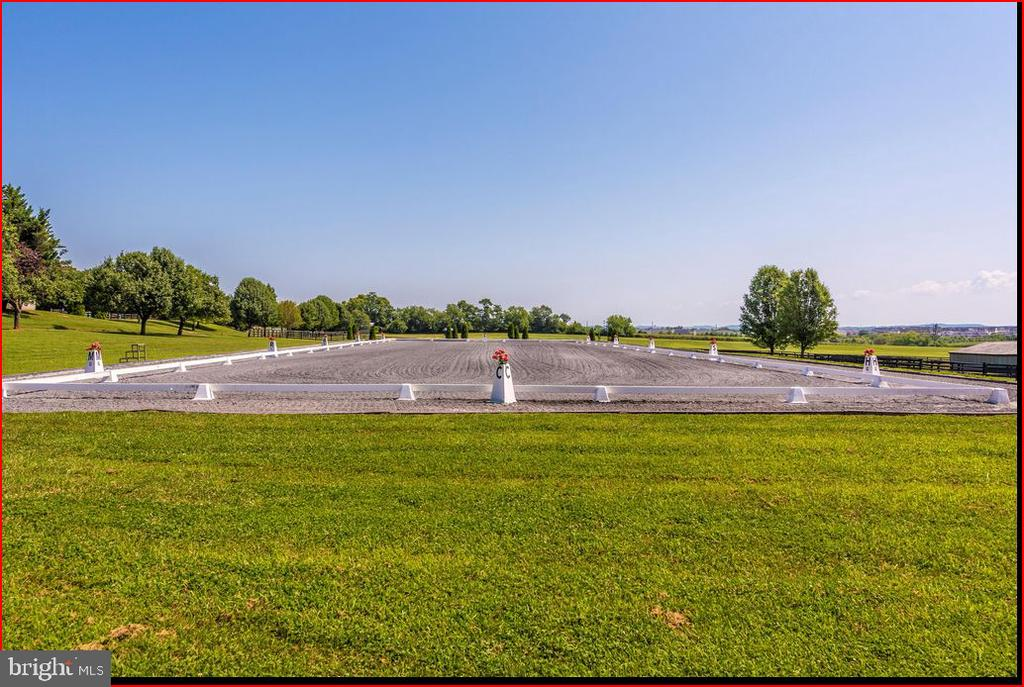 Dressage arena - 4800 BALLENGER CREEK PIKE, FREDERICK