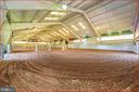 Indoor riding arena - 4800 BALLENGER CREEK PIKE, FREDERICK