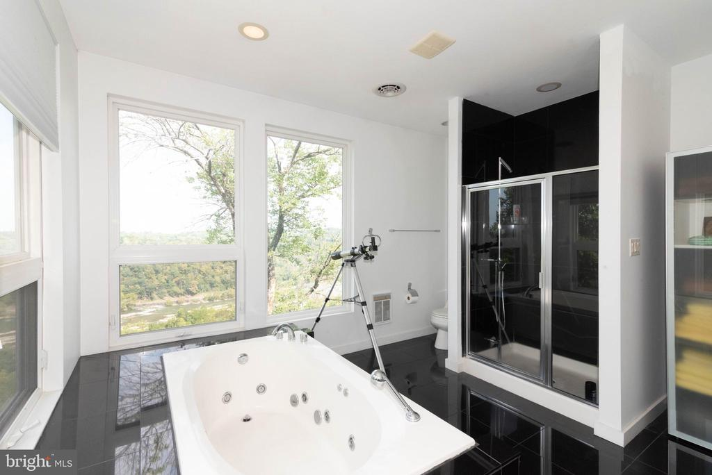 Separate shower and jacuzzi tub - 74 WOODCUTTERS LN, HARPERS FERRY