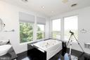 Master bathroom with views of Shenandoah - 74 WOODCUTTERS LN, HARPERS FERRY