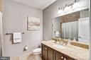 Full Hall Bath - 1418 N RHODES ST #B122, ARLINGTON