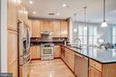 Kitchen - 1418 N RHODES ST #B122, ARLINGTON