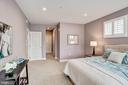 Master Bedroom - 1418 N RHODES ST #B122, ARLINGTON