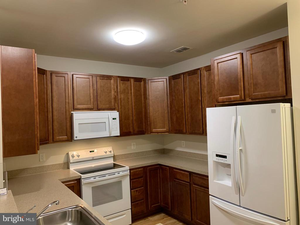 Spacious kitchen w/ upgraded appliances and floor - 20630 HOPE SPRING TER #103, ASHBURN