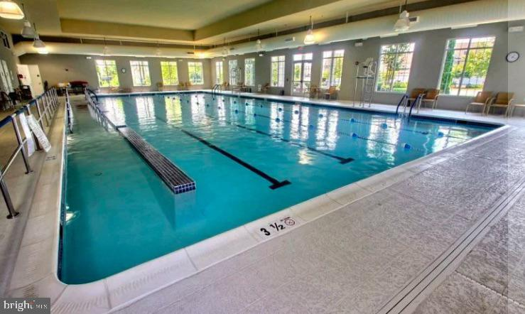 Swim year round in the indoor pool - 20630 HOPE SPRING TER #103, ASHBURN