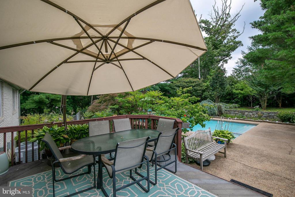 Enjoy outside living in your own private oasis - 2815 N LEXINGTON ST, ARLINGTON