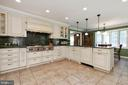 Extensive designer cabinets in Chef's Kitchen - 2815 N LEXINGTON ST, ARLINGTON