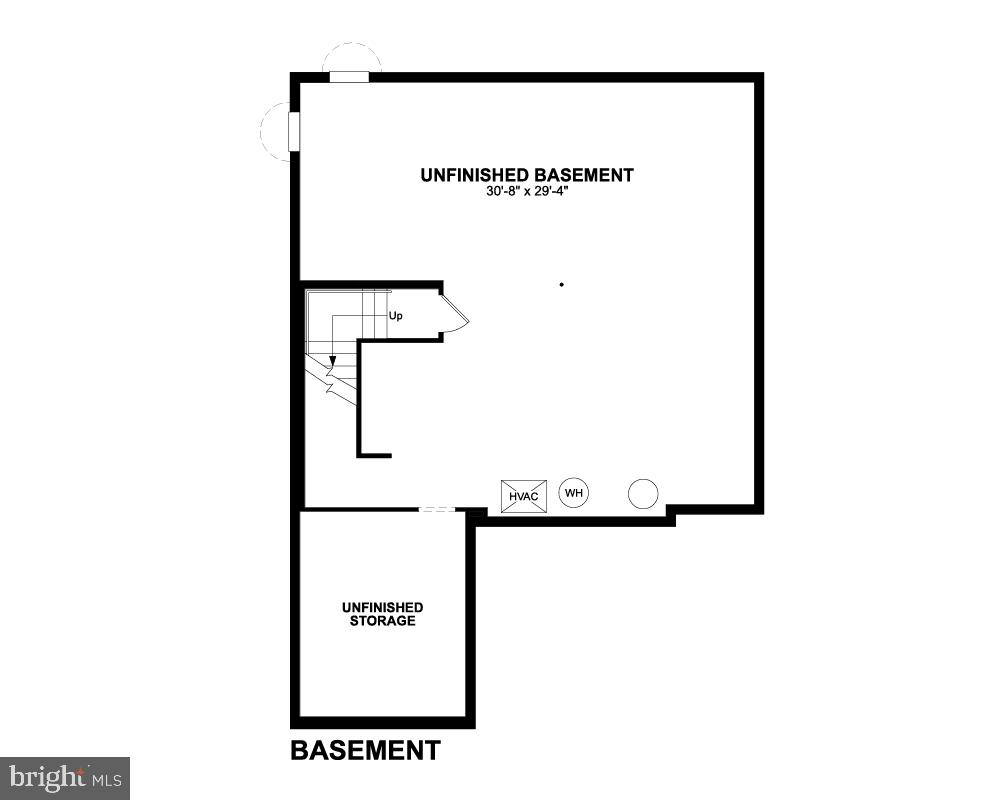 Basement - 7890 MEADOWLARK GLEN RD, DUMFRIES