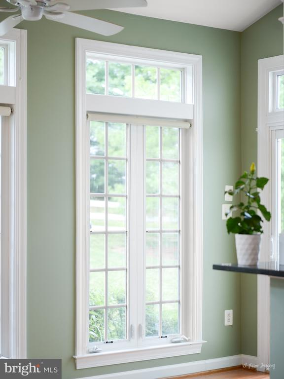 Large Casement Windows in Morning Room - 409 GLENBROOK DR, MIDDLETOWN
