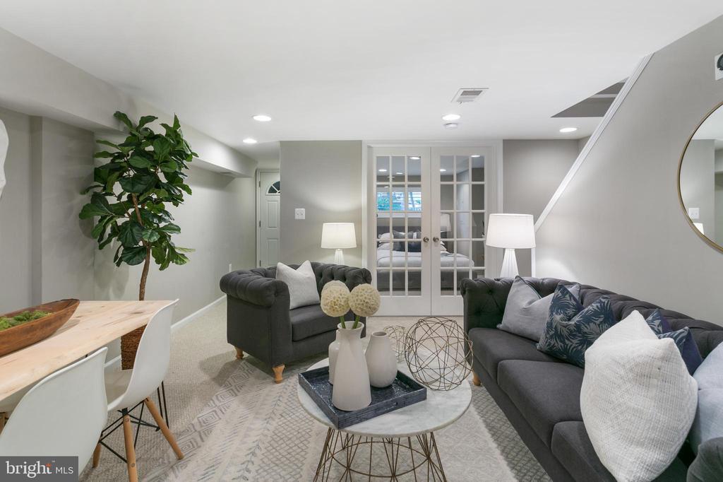 Basement Livingroom - 2118 FLAGLER PL NW, WASHINGTON