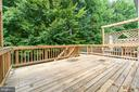 Deck that backs to trees - 15048 GALAPAGOS PL, WOODBRIDGE
