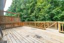 Deck -walks out from breakfast area - 15048 GALAPAGOS PL, WOODBRIDGE