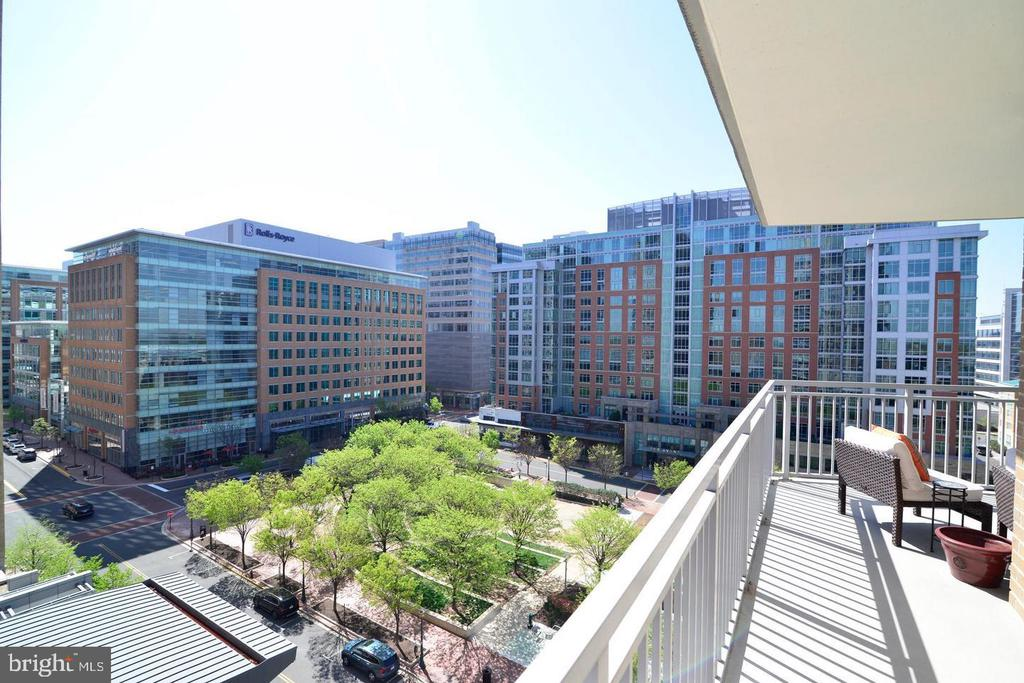 Balcony - 11990 MARKET ST #812, RESTON