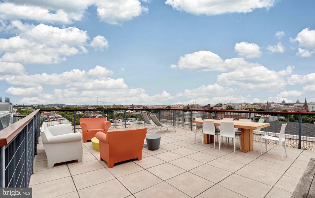 Roof Top Patio - 1401 Q ST NW #305, WASHINGTON