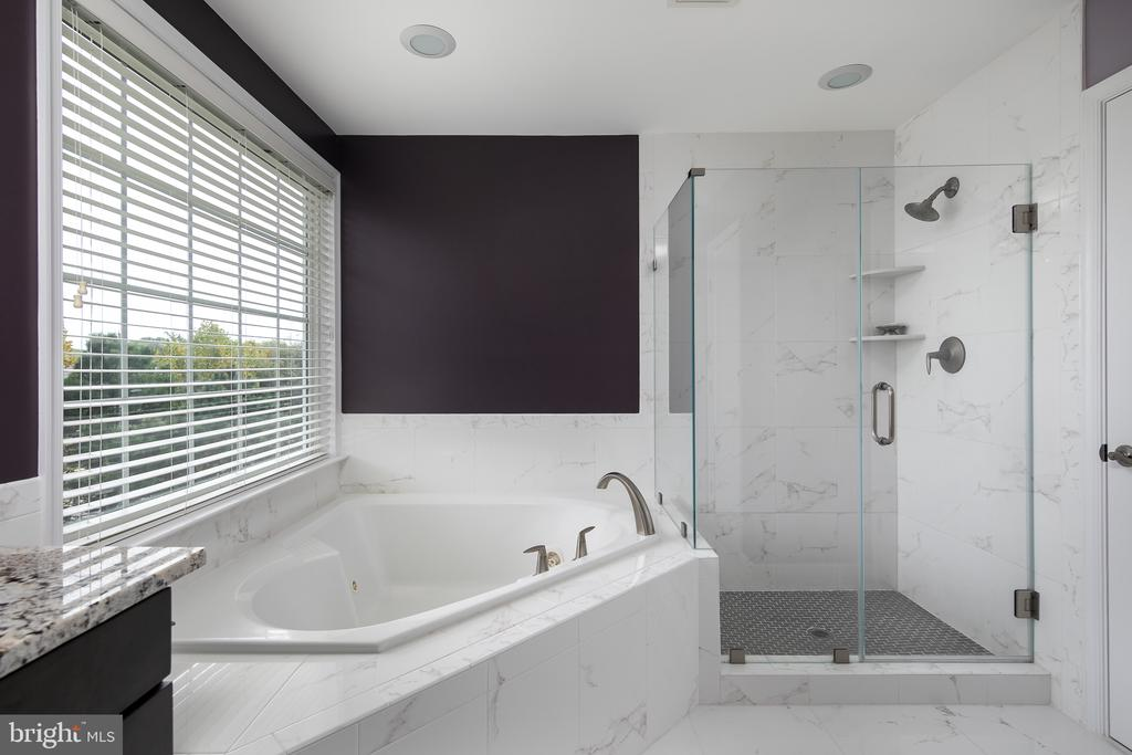 Spa like feel with jetted tub and separate shower - 45794 MOUNTAIN PINE SQ, STERLING
