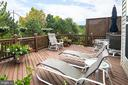 Mature trees and fencing provides outdoor privacy - 45794 MOUNTAIN PINE SQ, STERLING