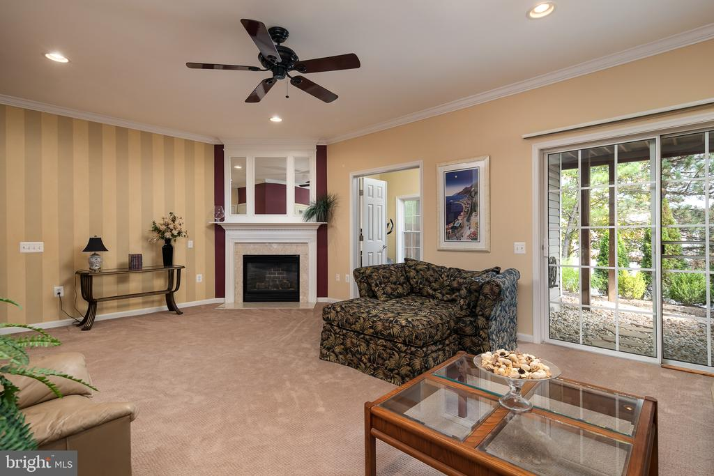 2nd gas fireplace keeps the family room toasty - 45794 MOUNTAIN PINE SQ, STERLING