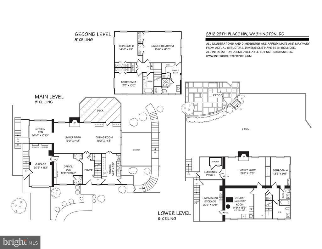 Floor Plans - 2812 29TH PL NW, WASHINGTON