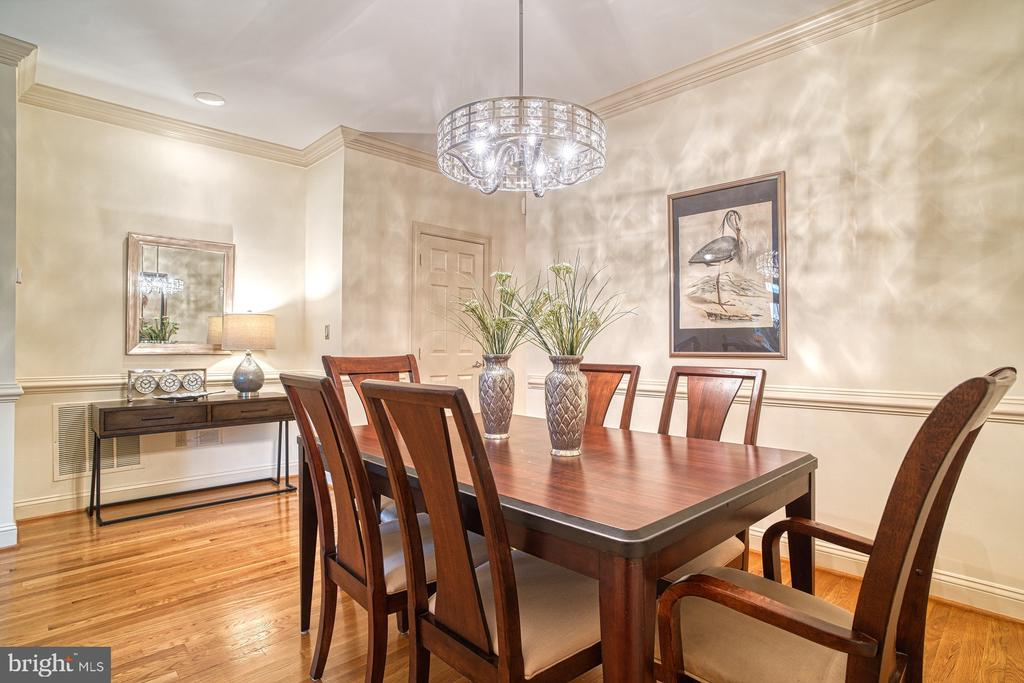 Large dining room - 1552 N COLONIAL TER, ARLINGTON