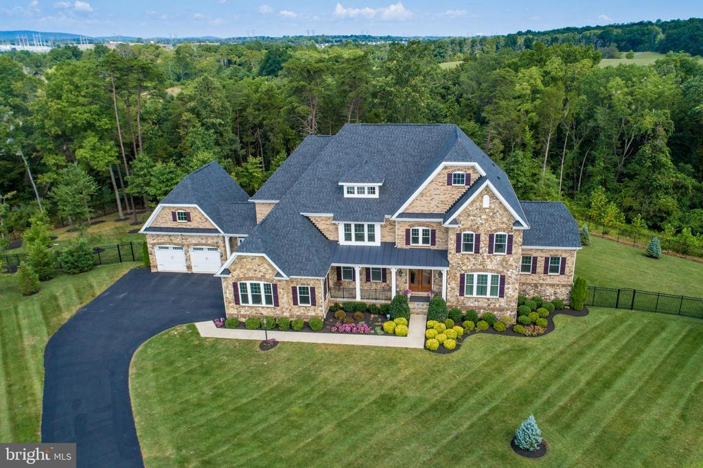 Aerial Front View - 26479 BARTON PARK CT, CHANTILLY